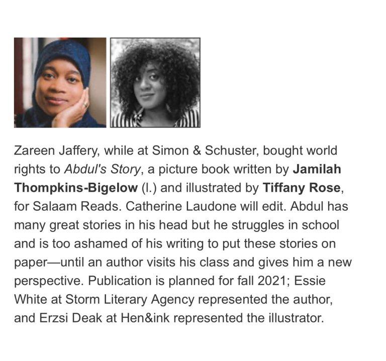 Abdul's Story Announcement